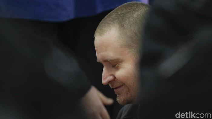 Mantan tentara pembunuh wartawan Slowakia Jan Kuciak, Miroslav Marček. (AP Photo/Petr David Josek/File)