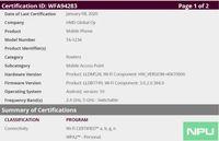 Dari informasi sertifikasi disebutkan 'TA-1234' akan menjadi ponsel pertama yang menggunakan Android 10 dan menggunakan Qualcomm Snapdargon 665.