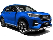 Sah, Daihatsu Rocky Versi Malaysia Pakai Mesin 1.000 cc Turbo