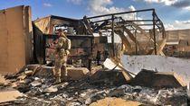 Pentagon Akui 34 Tentara AS Luka-luka Akibat Serangan Rudal Iran
