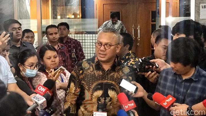Ketua KPU Arief Budiman. (Zhacky/detikcom)