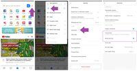 Menonaktifkan Iklan dan Update Konten di Browser Xiaomi