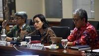 Dalam rapat yang membahas postur APBN 2020 itu, Sri Mulyani menjelaskan polemik desa fiktif yang mengemuka di Kabupaten Konawe, Sulawesi Tenggara, beberapa waktu lalu.