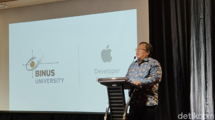 Menristek Harap Lulusan Apple Academy Bisa Bikin Unicorn (Virgina Maulita Putri/detikcom)