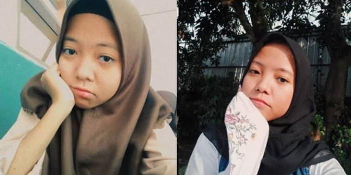 Nabila dan Nadya, anak kembar yang terpisah 16 tahun. Foto: istimewa