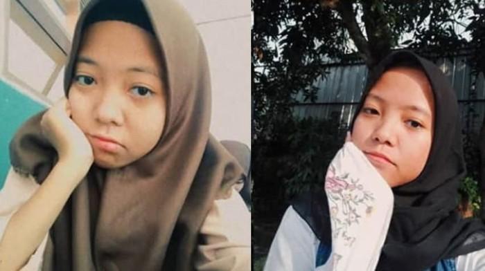 Nabila jilbab cokelat, Nadya jilbab Hitam. (Dok. Istimewa)