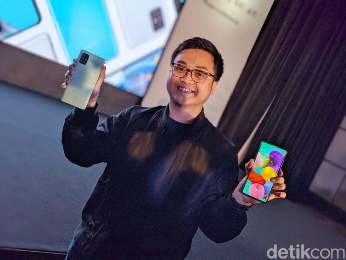 Product Marketing Manager Samsung Indonesia Irfan Rinaldi. Foto: Adi Fida Rahman/detikINET