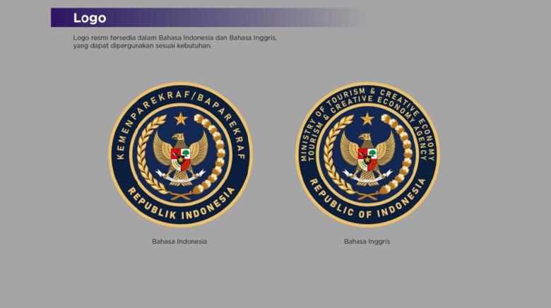 Logo baru Kemenparekraf yang jadi perbincangan (dok.istimewa)
