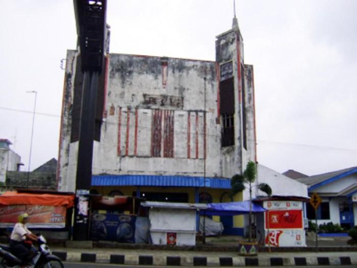 Bioskop Pusaka di Ciamis saat masih berdiri. (Foto: dokumentasi Bagja)