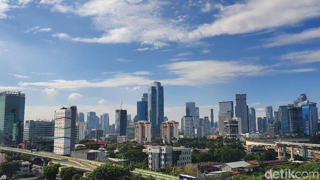 Langit Jakarta Biru dan Cerah Hari Ini, Ternyata Ini Penyebabnya