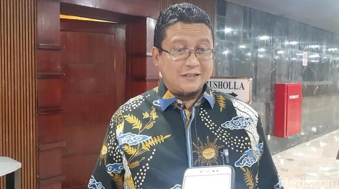Foto: Plt Ketua DKPP, Muhammad (Nur Azizah Rizki Astuti/detikcom)