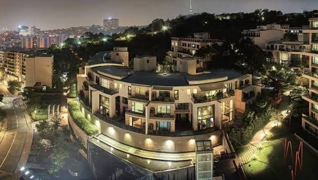apartemen Hannam The Hill yang dibeli Jin BTS