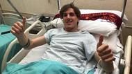 Usai Operasi Lutut, Zaniolo Absen Sampai Akhir Musim