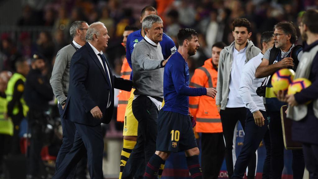 Messi Sebut Barcelona Bukan Favorit di Liga Champions, Setien Tak Sepakat