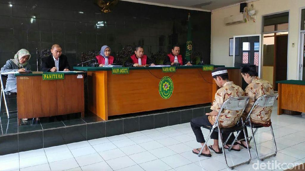 Dua Pembunuh Santri Husnul Khotimah Divonis 10 dan 13 Tahun Penjara