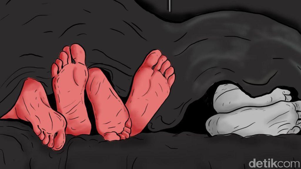 Istri yang Selingkuh dengan Pria di Tebet Pernah Dipergoki Anak