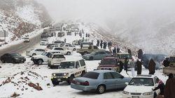 Heboh Sepekan: Arab Saudi Turun Salju