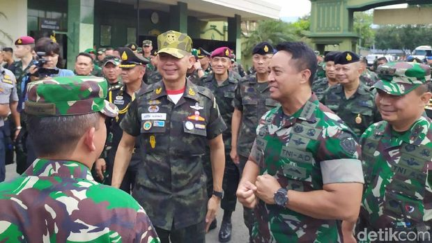 TNI AD dan Tentara Thailand Teken Kerjasama.