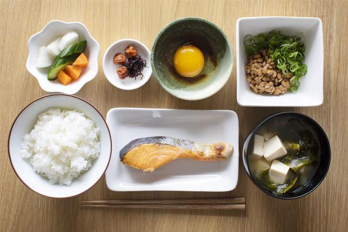 menu sarapan orang jepang