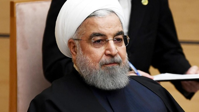 Hassan Rouhani (Charly Triballeau/Pool Photo via AP, File)