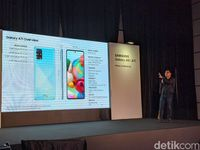 (HOLD) Samsung Resmi Rilis Galaxy A71 di Indonesia, Apa Daya Tariknya?