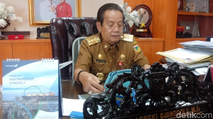 Foto: Gubernur Sulteng Longki Djanggola (Qadri-detikcom)