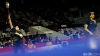 Pasangan ganda campuran Indonesia Ricky Karandasuwardi/Pia Zebaidah gagal melaju ke babak selanjutnya dalam Indonesia Masters 2020 yang digelar di Istora Senayan, Jakarta, Selasa (14/1/2020).