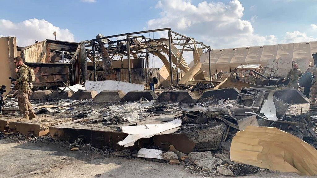 Ternyata! 11 Tentara AS Terluka Akibat Serangan Rudal Iran