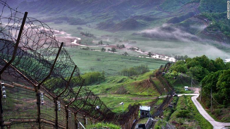 Zona Demiliterisasi Korea (Foto: CNN)