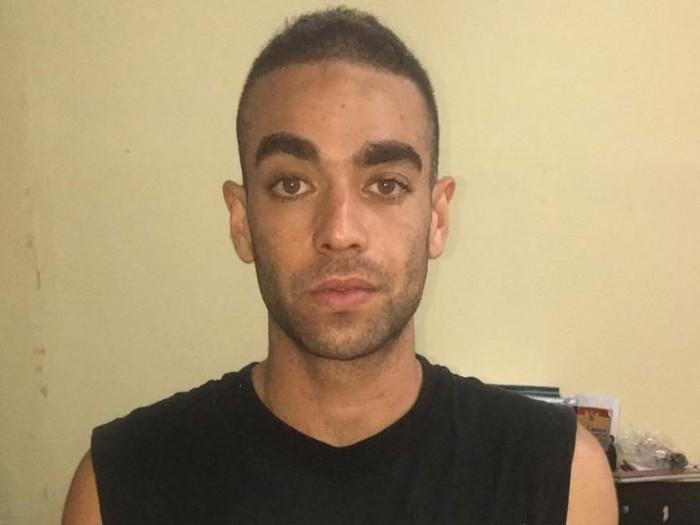 Turis asal Australia, Tore Gerard Vincenzo Bempasciuto, ditangkap karena menganiaya sopir taksi di Bali. (Istimewa)