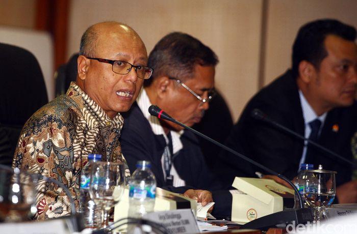 Diskusi yang membahas soal Jiwasraya digelar oleh Fraksi NasDem DPR RI.