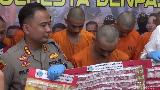 Polisi Tangkap 4 Remaja Kurir Ekstasi-Sabu di Denpasar