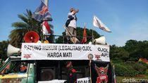 Perwakilan Ojol Klaim Tuntutan Tarif-Payung Hukum Ditindaklanjuti Kemenhub