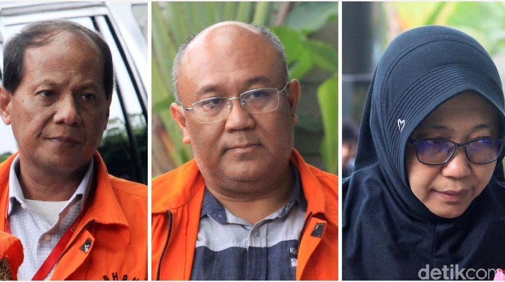 Para Tersangka di Pusaran Kasus Suap Bupati Sidoarjo Diperiksa KPK