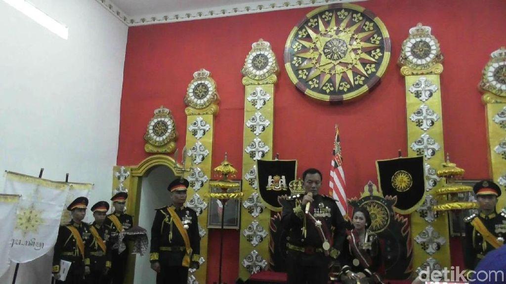 Baju Kebesaran Ratu Keraton Agung Sejagat Ternyata Juga Dibuat di Yogya