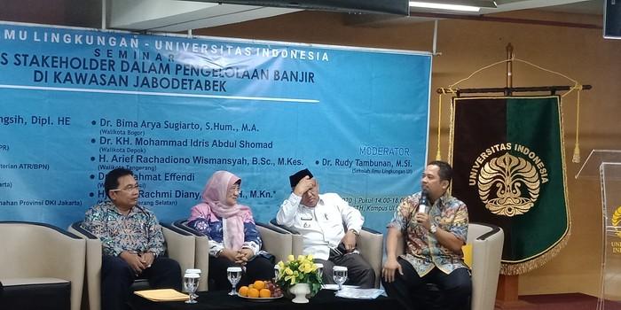 Wali Kota Tangerang (kanan) (Eva Safitri/detikcom)