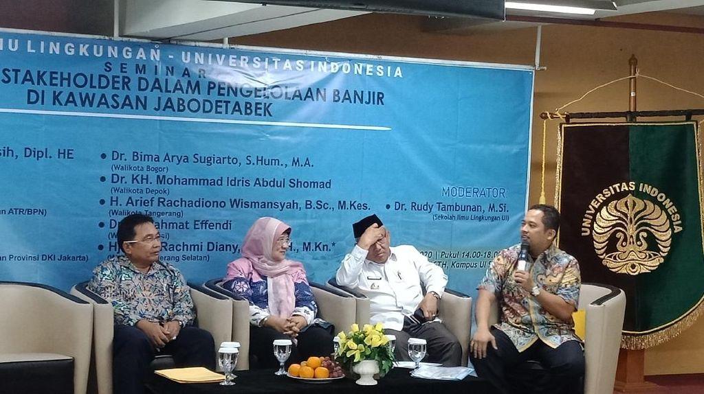 Wali Kota Tangerang Mau Bangun Sumur Injeksi Rp 250 M demi Atasi Banjir