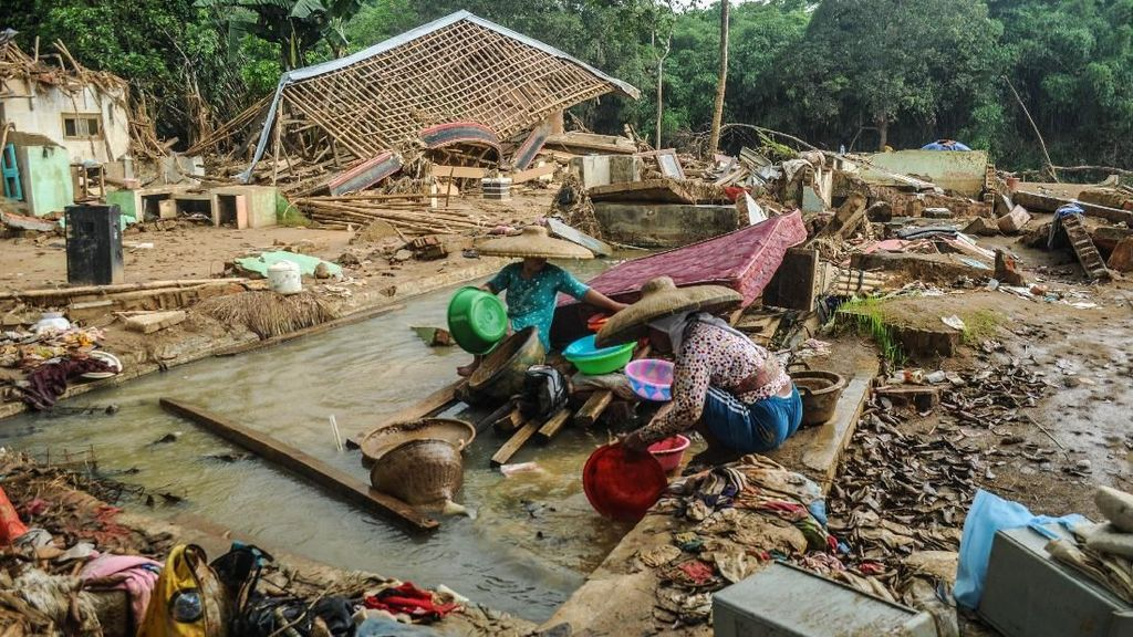 Bupati Lebak: 2.105 Korban Banjir-Longsor Masih Mengungsi
