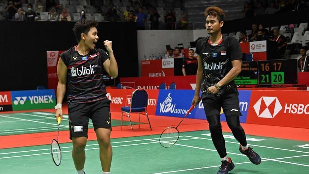 Tontowi/Apriyani jadi pasangan mendadak di Indonesia Masters 2020.