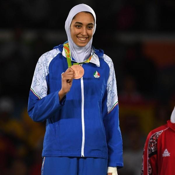 Potret Kimia Alizadeh, Atlet Iran yang Pindah Warga Negara karena Tertindas