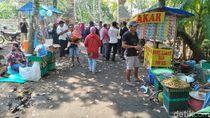 Makin Ramai! Pasar Tiban Muncul di Area Keraton Agung Sejagat