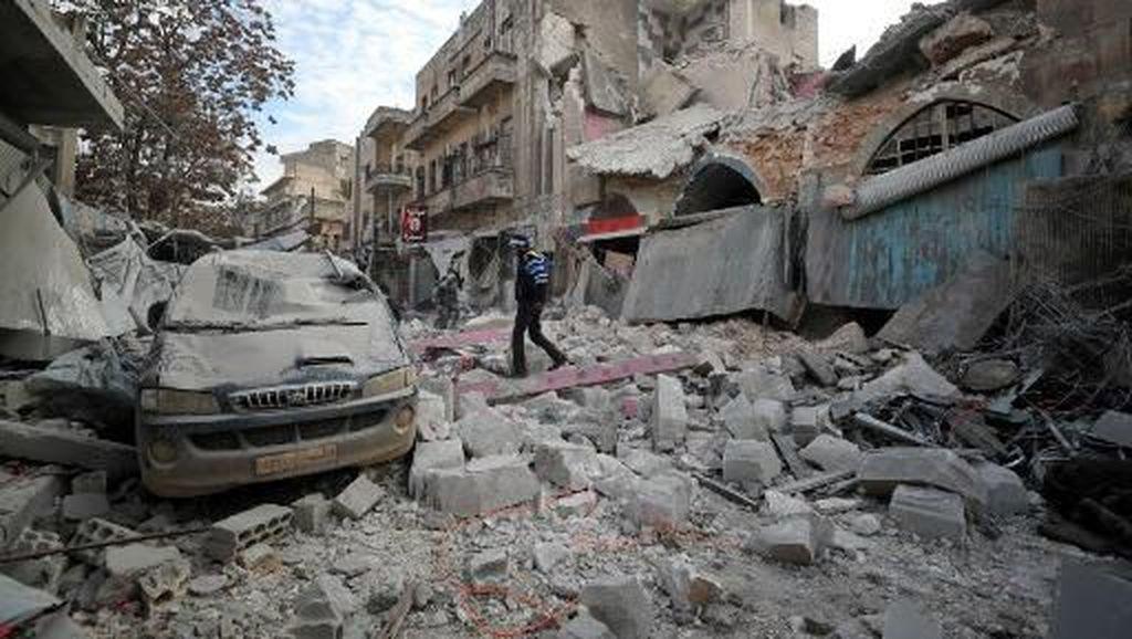 Serangan Udara Tewaskan 9 Warga Suriah di Tengah Gencatan Senjata
