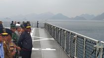 TNI Sebut Kapal China Kini Menjauh 400 Mil dari ZEE Perairan Natuna
