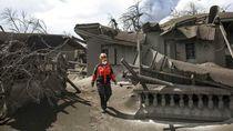 Proses Evakuasi Warga Terdampak Taal Volcano Terus Berlangsung
