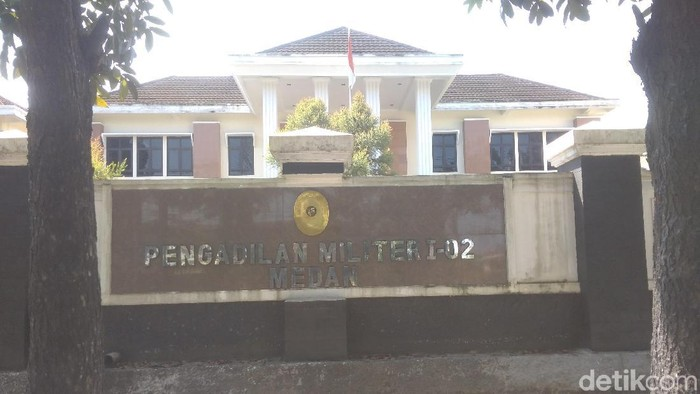 Pengadilan Militer Tinggi (Dilmiti) I Medan (Datuk Haris Molana/detikcom)