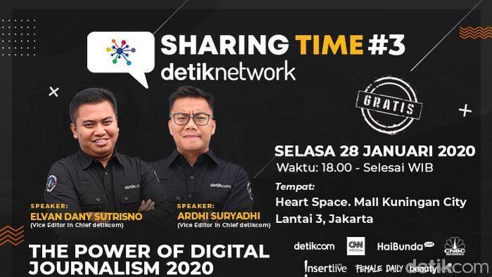 Foto: Sharing time #3 detiknetwork (Dok. detikcom)
