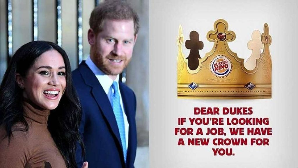 Pangeran Harry Ditawari Bekerja di Burger King Argentina