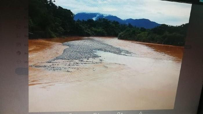 Pencemaran lingkungan diduga dilakukan di Luwu Timur, Sulsel (dok. Istimewa)