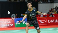 Hasil PBSI Home Tournament Tunggal Putra Sesi 3