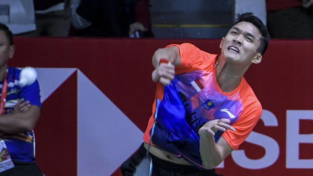 Lolos ke Perempatfinal Indonesia Masters, Jonatan Terbantu Berisiknya Istora
